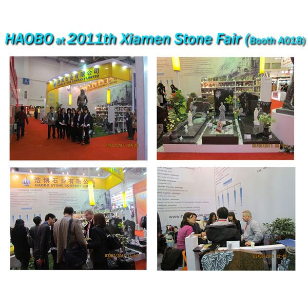 H Stone at 2011th Xiamen Stone Fair