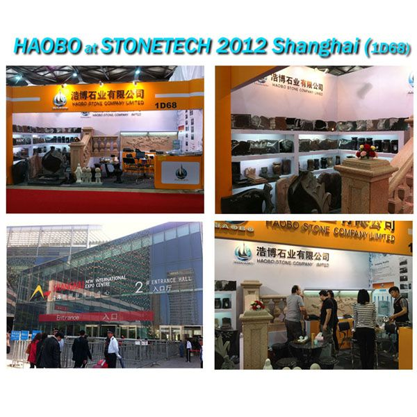 Hobo Stone at 2012th Shanghai Stone-tech Fair