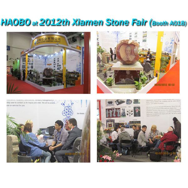 Haobo Stone at 2012th Xiamen Stone Fair