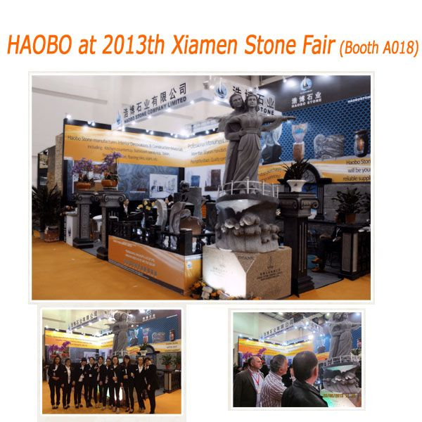 Haobo Stone at 2013th Xiamen Stone Fair