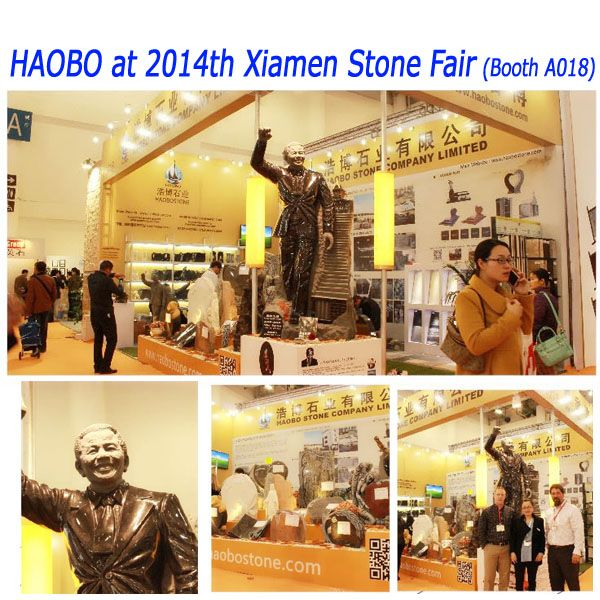 H Stone at 2014th Xiamen Stone Fair