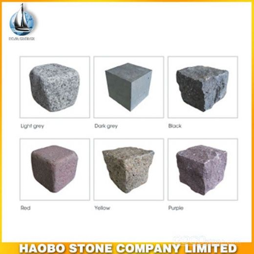 Granite Cobblestone Paving Stone