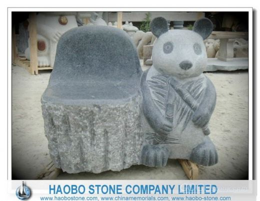 Haobo Garden Granite Chair in G654
