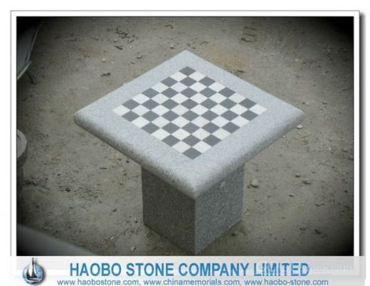 Cheap Light Grey Granite Stools