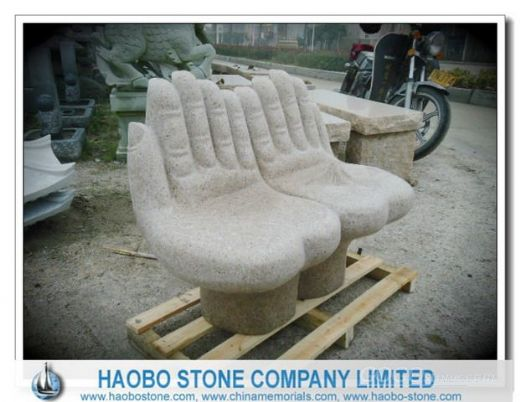 Hands Granite Chair