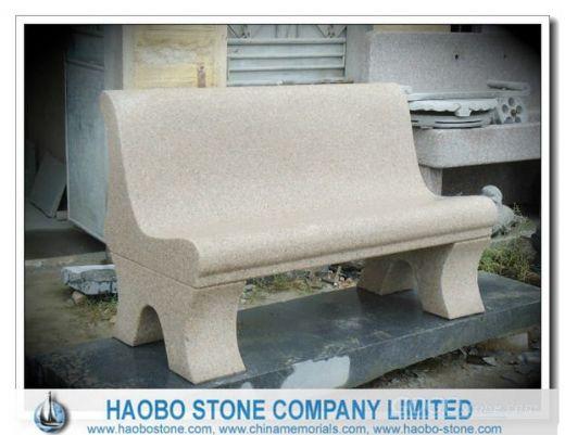 Yellow Granite Long Bench Double bench