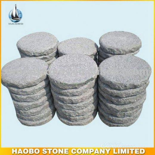 Round Granite Stepping Stone