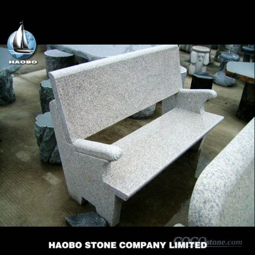 Wholsale garden granite bench,granite seat