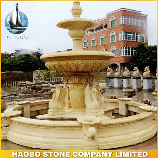 Large Stone Water Fountain