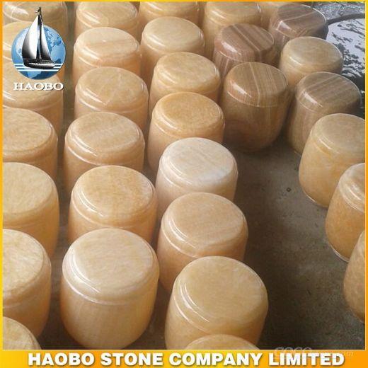 Gravestone urns, onyx urns,
