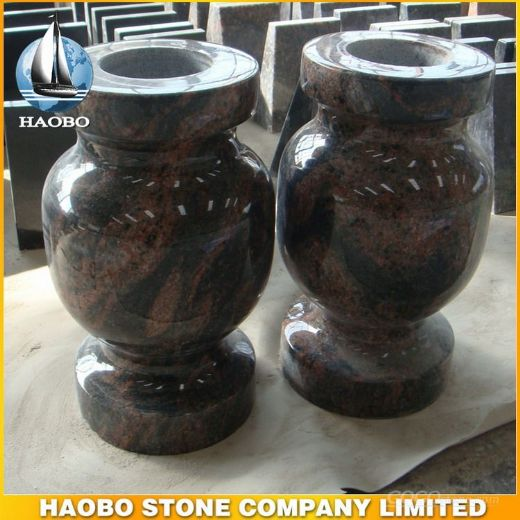Tombstone Vase, Granite Vase, Cemetery Vase