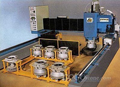 Top polishing machine-Top polisher APM