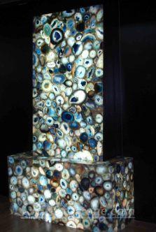 Backlit Semi-precious Stone