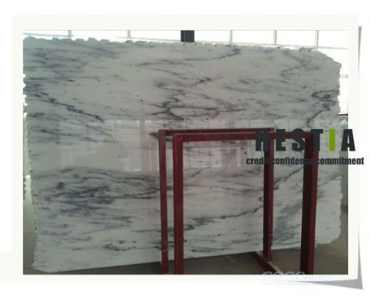 Sino Bianco Landscape Marble Slabs
