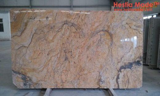 Leopard Yellow Granite Slabs