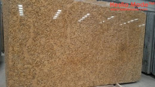 Santa Cecilia Gold Granite Slabs