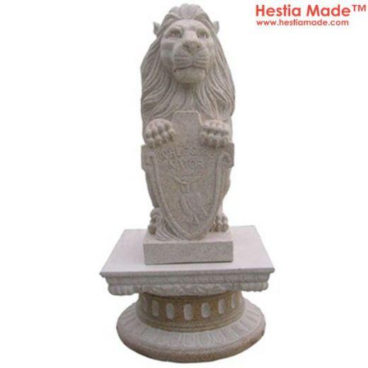 Granite Animal Carvings Lion Sculpture