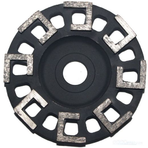 6 inch L- S-shape segment diamond Cup Wheels for grinding concrete/marble/granite