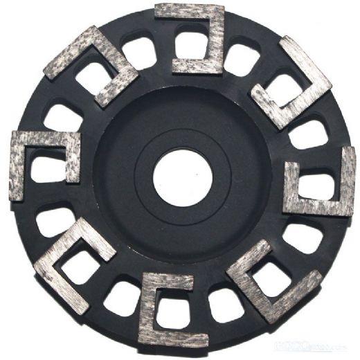 6 inch L- S-shape segment diamond Cup Wheels for grinding concrete/marble/granite