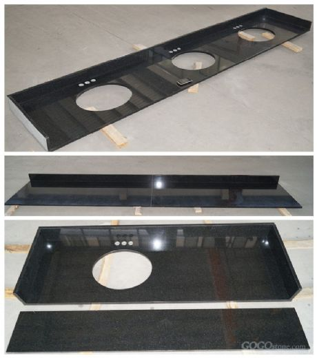 ShanXi Black Granite Vanity top