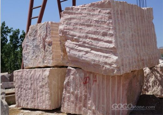 Red marble Block