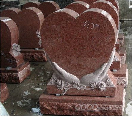 heart shape headstone
