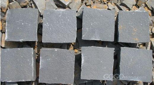 Zhanpu basalt cubes