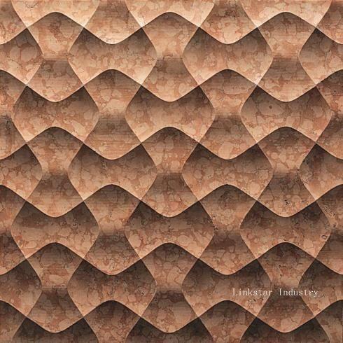 3D cnc decorative stone wall panels