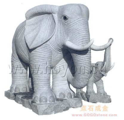 Animal carving—Elephant