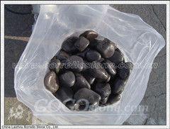Black pebble,gravel,sand