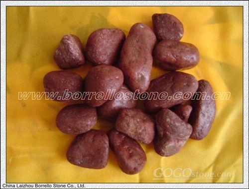 Red pebble stone,pebblestone