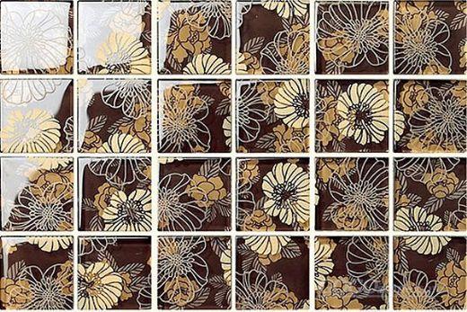 3D Marble Ceramic Tile Mosaic Pattern