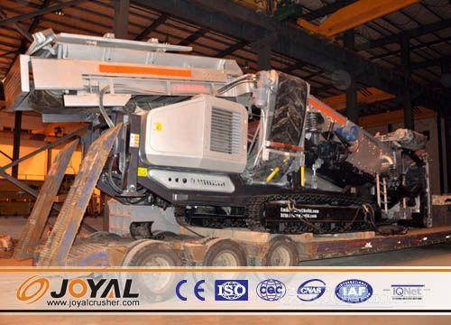 Joyal Crawler Mobile Crusher-Jaw Crusher