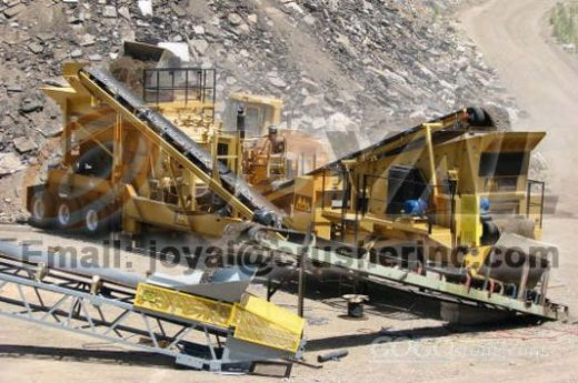 JOyal Mobile Impact Crushing Plant