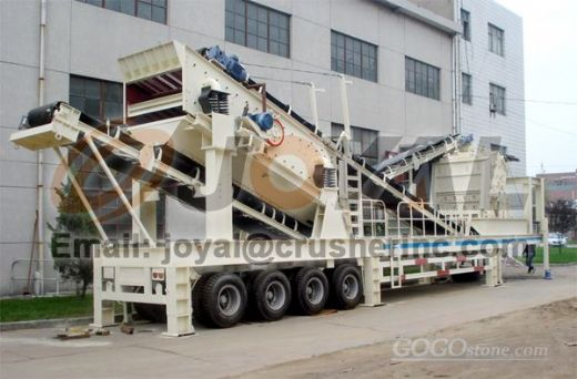 Joyal  Mobile Impact Crushing Plant Y3S1860F1214