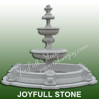 Large Outdoor Stone Fountain