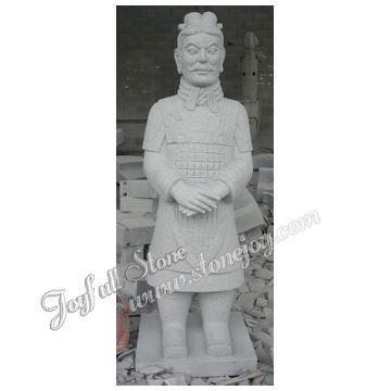 Stone Warrier Statue