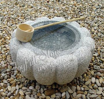 Japanese style water bowls