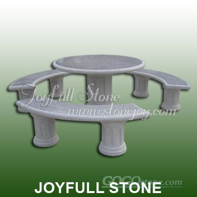 Garden Stone Table Set