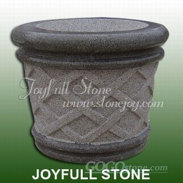 Granite and Marble Flower Pots