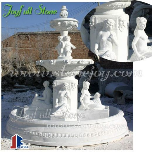 Decorative Italian style marble fountains