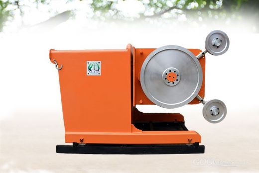 New hydraulic cutting concrete rock diamond wire saw machine 45KW