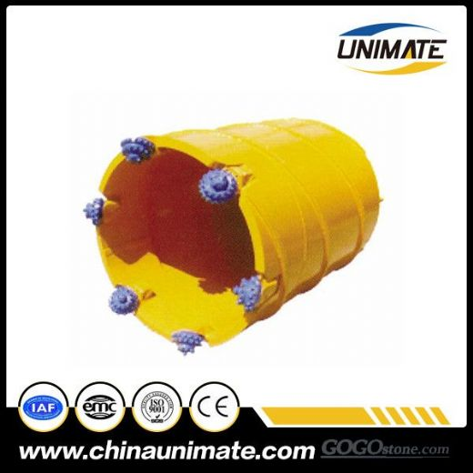Best Quality Core Barrels With Roller Bits For Piling Construction
