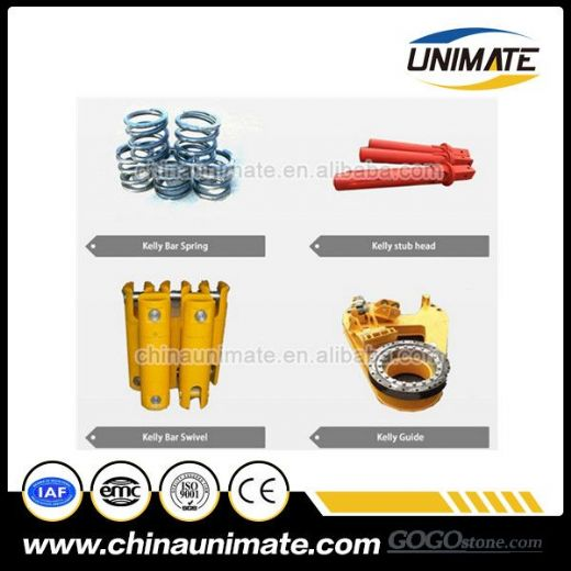 kelly bar spare parts wholesale, swivel head,kelly guide