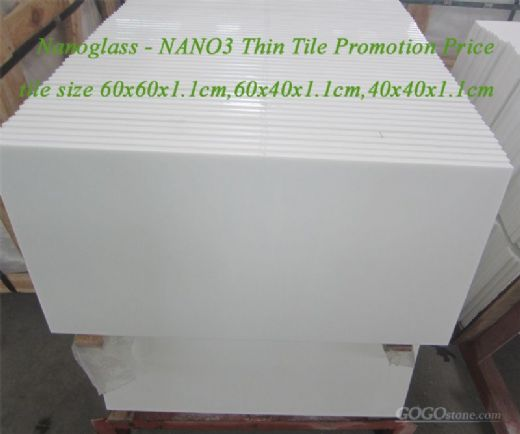 Nanoglass Thin Tile Promotion Price this month