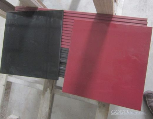 Red Nanoglass, Red Nano Glass Slab