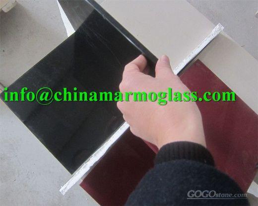 Black Nanoglass