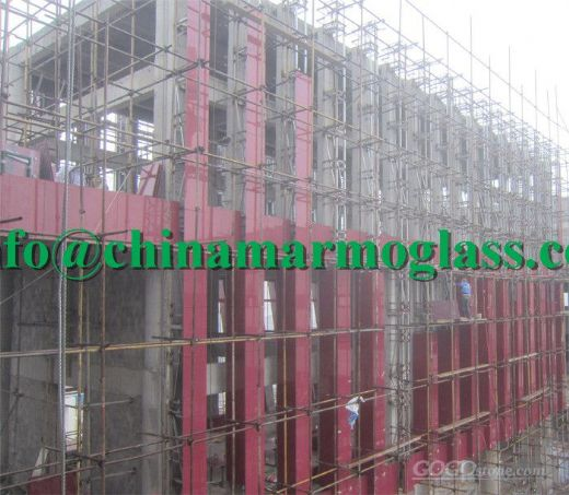 Red Nanoglass Tile Wall Cladding Tile