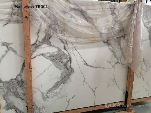 Carrara White Nanoglass