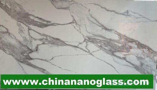 Calacatta nano crystallized stone